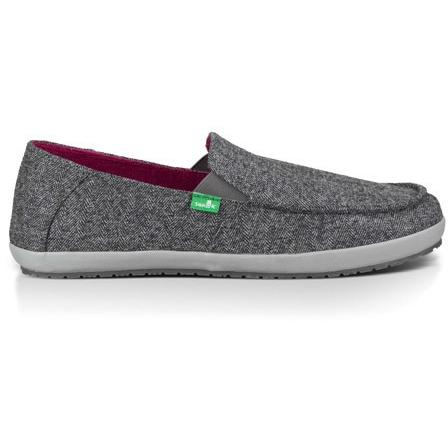 SANUK Mens CASA TX in Grey Herring