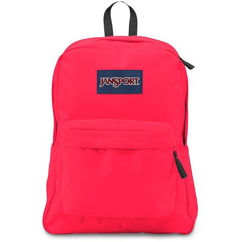 Jansport Superbreak Backpack Fluorescent Red JS00T5011Q4