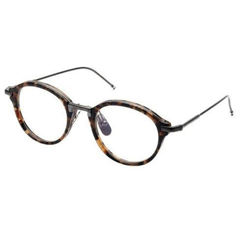 THOM BROWNE Unisex Optical Glasses Tb-011-B-Trt-Blk-49  Tortoise-BlackIron TB-011