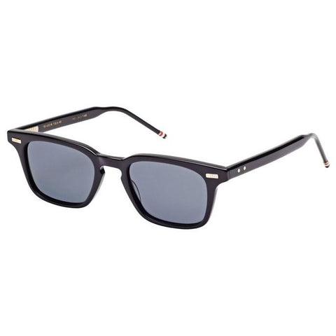 Thom Browne Sungls TB-402-A-T-BLK-49 Black w/Dark Grey-AR