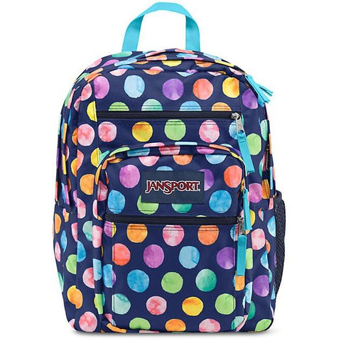 Jansport Big Student Backpack Multi Watercolor Spots JS00TDN70AN