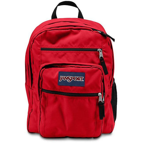 Jansport Big Student Backpack High Risk Red JS00TDN75KS
