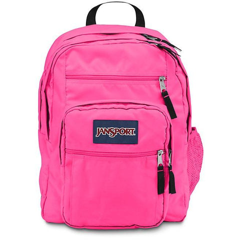 Jansport Big Student Backpack Fluorescent Pink JS00TDN79RX