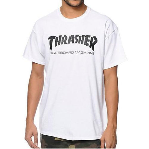 Thrasher Skate Mag T-Shirt White 311027