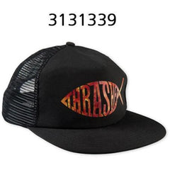 THRASHER Fish Mesh Snapback Black 3131339