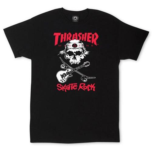 Thrasher Skate Rock T-Shirt Black 314465