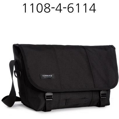 TIMBUK2 Classic Messenger Bag Jet/Black 1108-4-6114