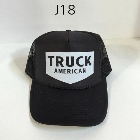 TRUCK BRAND Post Mesh Hat Multi J18