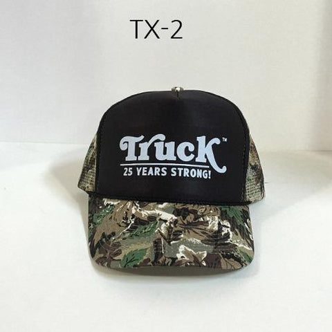TRUCK BRAND Strong-Black Forest Camo Mesh Hat Camo TX-2