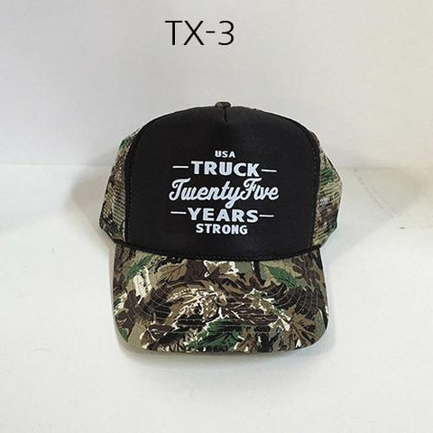 TRUCK BRAND Years-Black Forest Camo Mesh Hat Camo TX-3