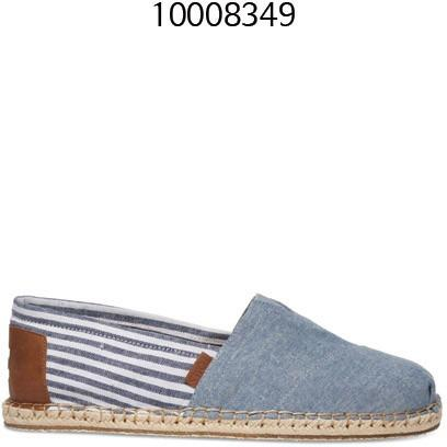 TOMS Blanket Stitch Mens Classic Chambray 10008349