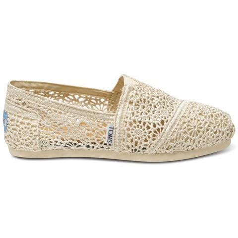 Toms Morocco Crochet Women's Classic Natural 001096B10-NATUR
