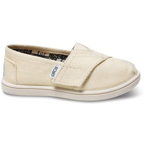 Toms Tiny Natural Canvas  Classic 013001D13-LTBGE