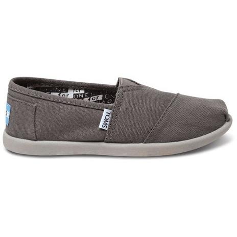 Toms Youth Ash Canvas Classic 012001C13-ASH