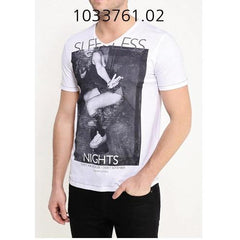 TOM TAILOR Pigment Photoprinted T-Shirt White 103376102