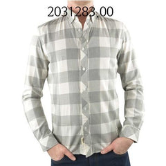 TOM TAILOR Melange Checked Shirt TitaniumGrey 203128300