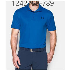 UNDER ARMOUR Mens Performance Polo T-Shirt Blue Marker/Academy 1242755-789