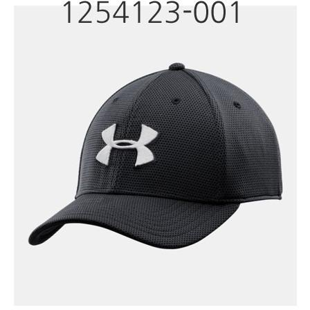 UNDER ARMOUR Mens Blitzing II Stretch Fit Cap Black/White 1254123-001