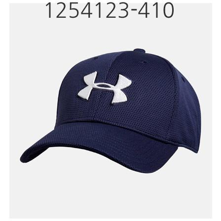 UNDER ARMOUR Mens Blitzing II Stretch Fit Cap Midnight Navy/White 1254123-410