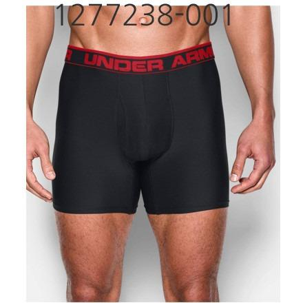 UNDER ARMOUR Mens Original Series 6 Boxerjock Underwear Black/Red 1277238-001