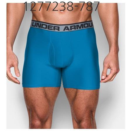 UNDER ARMOUR Mens Original Series 6 Boxerjock Underwear Brilliant Blue/Black 1277238-787