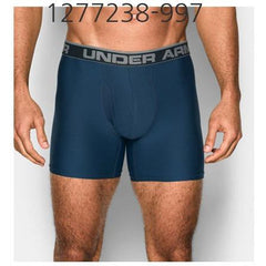 UNDER ARMOUR Mens Original Series 6 Boxerjock Underwear Blackout Navy/Steel 1277238-997