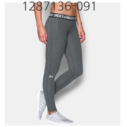 UNDER ARMOUR Womens Favorite Legging Carbon Heather/Black/Metallic Silver 1287136-091