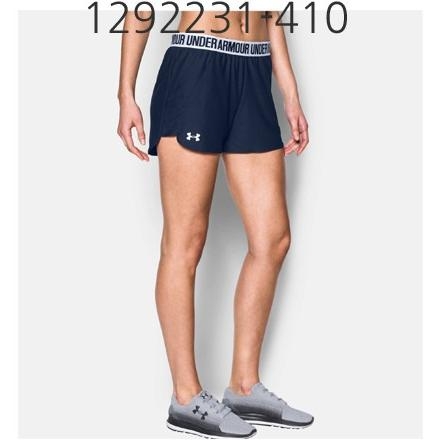 UNDER ARMOUR Womens Play Up 2.0 Short Midnight Navy/White 1292231-410