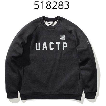 UNDEFEATED Technical Crew Ls Neck Black Heather 518283