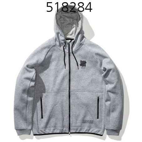 UNDEFEATED Technical Zip Ls Hood Grey Heather 518284