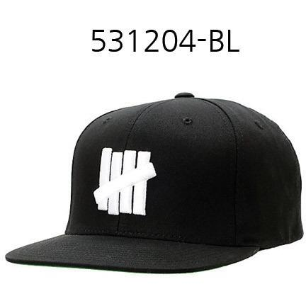 UNDEFEATED 5 Strikes Snapback Black 531204