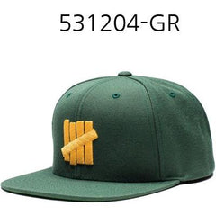 UNDEFEATED 5 Strikes Snapback Green 531204