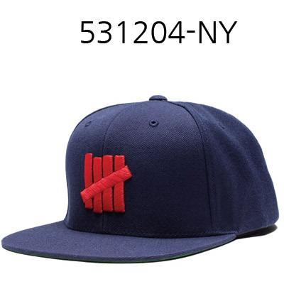 UNDEFEATED 5 Strikes Snapback Navy 531204