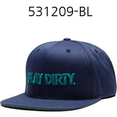 UNDEFEATED Play Dirty Snapback Black 531209