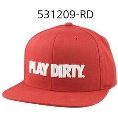 UNDEFEATED Play Dirty Snapback Red 531209
