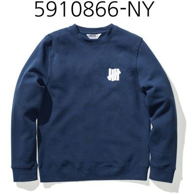 UNDEFEATED Chest Strike Crew Navy 5910866