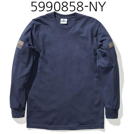 UNDEFEATED X Patch Long Sleeve Tee Navy 5990858