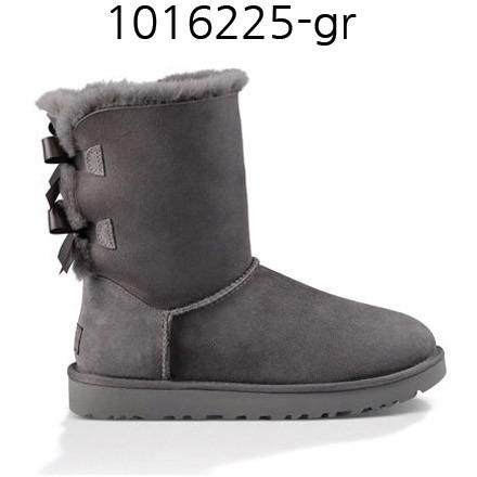UGG Womens Bailey Bow ???? Grey 1016225