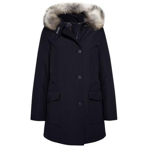 Woolrich Women's Arctic Parka DF - Black Purple T WW1959
