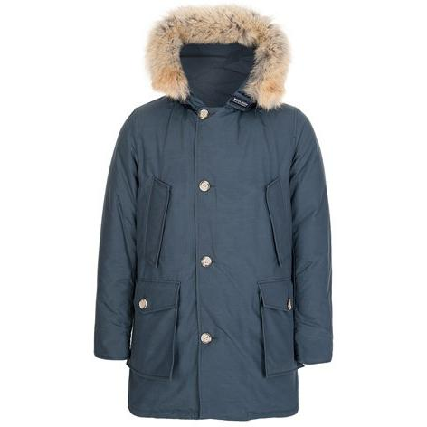 Woolrich Men's Arctic Parka - Blue Grey WO1674