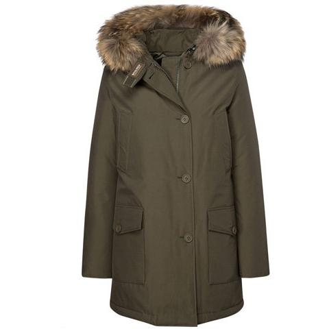 Woolrich Women's Arctic Parka DF - Dark Green WW1959
