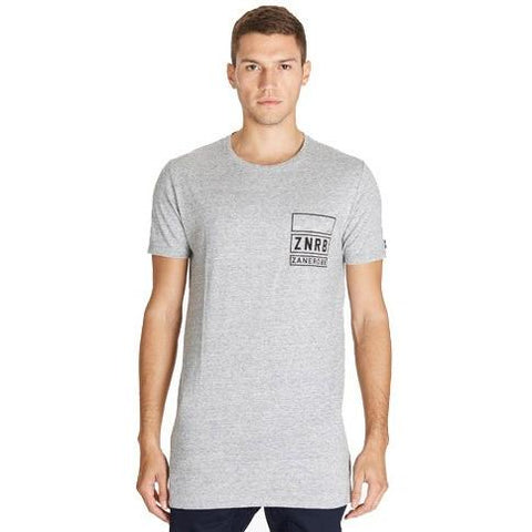 Zanerobe Stack Tall Tee 116MTG Grey Marle  in Grey Marle