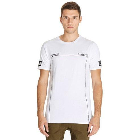 Zanerobe DM Tee 117MTG White in White