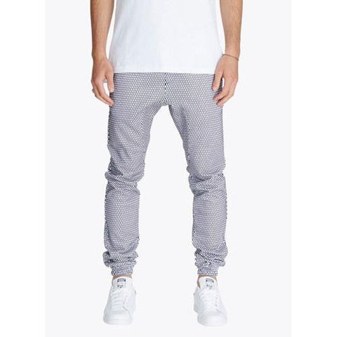 ZANEROBE Salerno M.U. Trackpant Hive Sureshot Jogger Navy/White in Navy/White