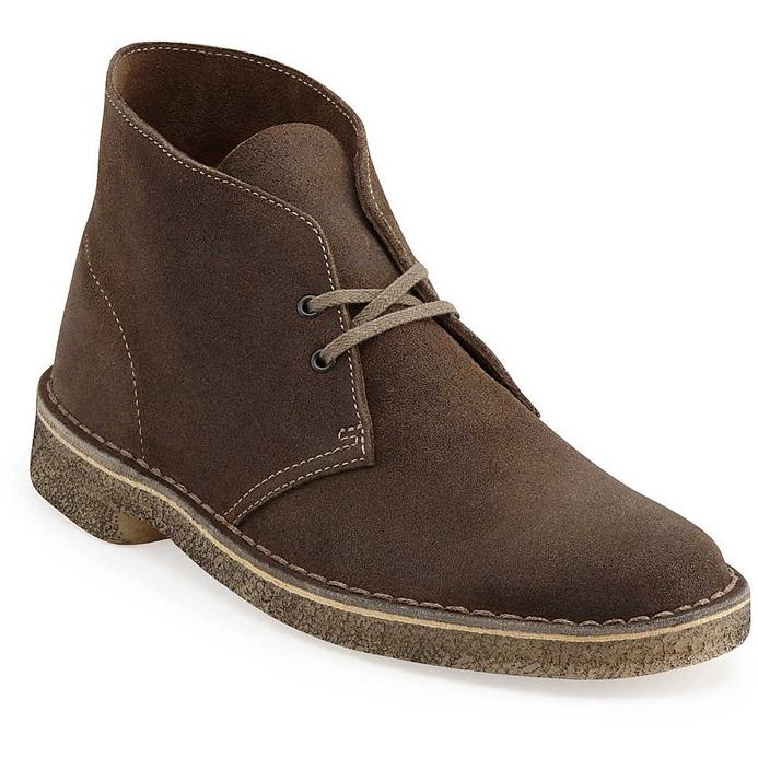 Clarks Desert Boots Taupe Suede