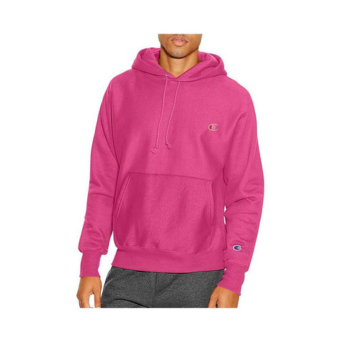 Champion Reverse Weave Pigment-Dyed Pullover Hoodie Amaranth S2316