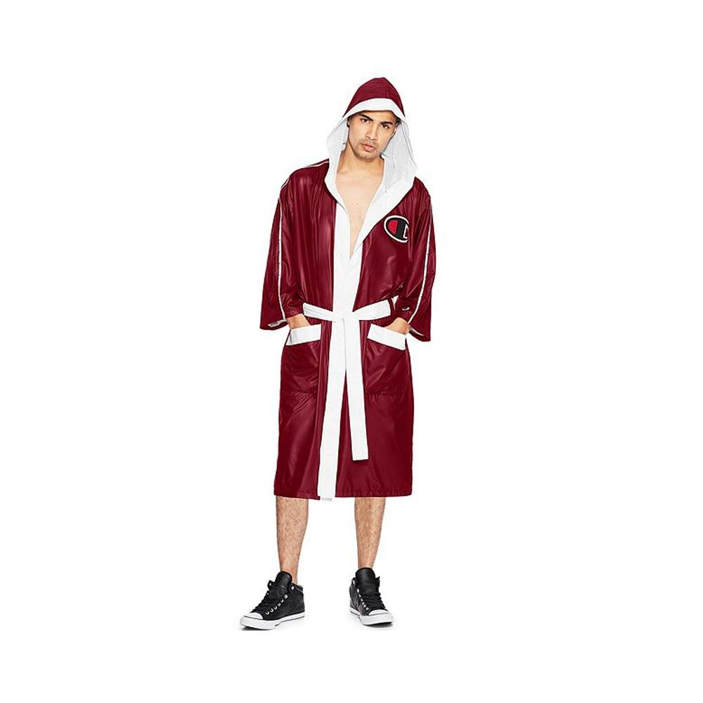 Champion Satin Boxing Robe, Limited Edition Sideline Red/White V9654