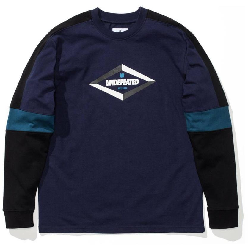 Undefeated 90S Undefeated Long Sleeve Crew Navy 514341