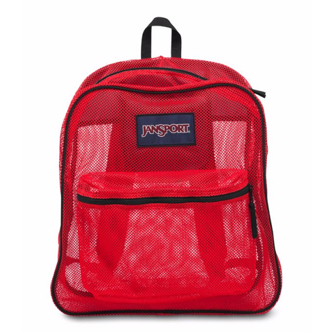JANSPORT Mesh Pack Backpack High/Risk/Red JS0A2SDG5KS