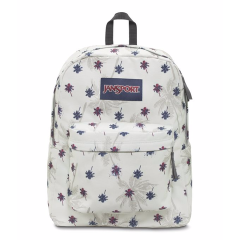 JANSPORT Superbreak Backpack Goose Grey Urban Oasis JS00T5010VK